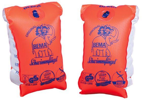 Einfach und gut: Die Schwimmflügel von BEMA. (Foto: BEMA)